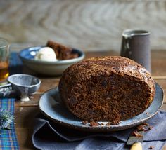 This traditional steamed Scottish pudding is made with dried fruit and spices. Enjoy on Burns night with a wee dram and custard or ice cream to serve