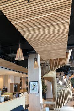 Wood Hotel – Mjøstårnet – Trysil Interiørtre AS Woods, Pergola, Outdoor Structures, Outdoor Decor, Furniture, Home Decor, Design, Decoration Home, Room Decor