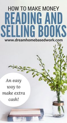 How To Make Money Selling and Reading Books Online via @legitworkathome