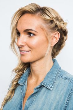 We break down the fishtail braid step by step because no matter how many video tutorials we watch, it's still so hard! | Health.com