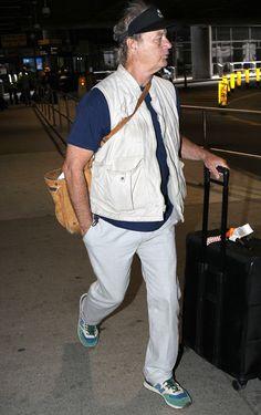 Ekpo Esito Blog: Bill Murray arrives at Logan Int'l Airport in Bost...
