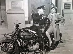 An 80cid Indian, a cop and a dame, 1930s.