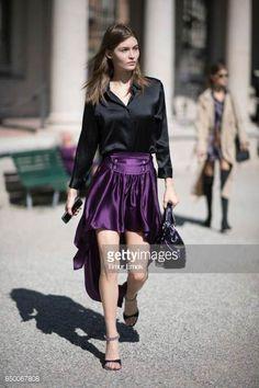 Grace Elizabeth seen during Milan Fashion Week Spring/Summer 2018 on September 20 2017 in Milan Italy