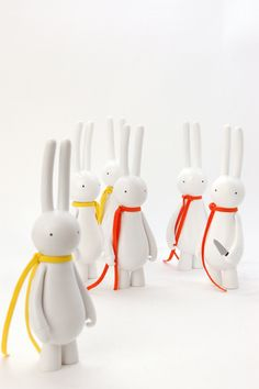 Mr Clement's sinister bunnies from the Petit Lapin series.