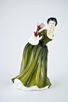 Le statuette di porcellana diventano horror. Il progetto di Jessica Harrison.  #art