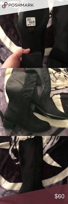 Tall boots Lane Bryant black tall boots  10W Lane Bryant Shoes Heeled Boots
