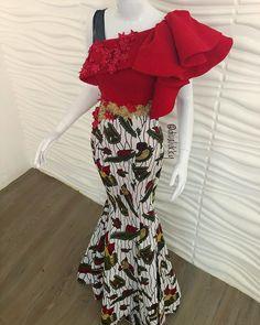 Trendy, Stylish, and Head-Turning Ankara Styles – Page 2 of 2 Ankara Styles For Women, Kente Styles, Ankara Gown Styles, Ankara Gowns, Aso Ebi Styles, Ankara Dress, African Wear Dresses, African Attire, African Print Fashion