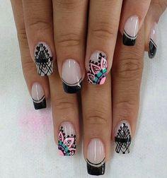 Gel Nails, Beauty Hacks, Nail Designs, Hair Beauty, Make Up, Nail Art, Instagram, Pretty Nails, Moldings