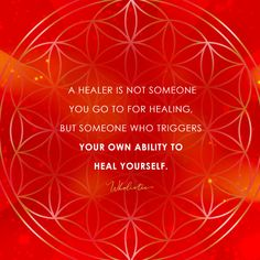 Quote: A healer is not someone you go to for healing, but someone who triggers your own ability to heal yourself. Spiritual Healer, Spiritual Awakening, Spiritual Quotes, Spirituality, Healer Tattoo, Yoga Words, Wounded Healer, Now Quotes, Prayers For Healing