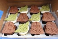 Yoda cupcake topper and more party ideas