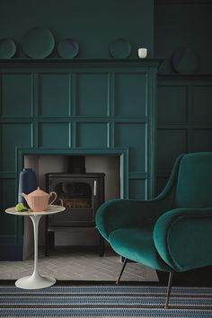 Any Colour (Paint) As Long As It's Green -  There's a colour green to complement any room or situation