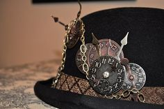 steampunk women's hats - Google Search