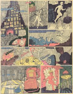 CENTRE FOR THE AESTHETIC REVOLUTION: ALEJANDRO JODOROWSKY'S 'FABULAS PANICAS' COMIC STRIPS