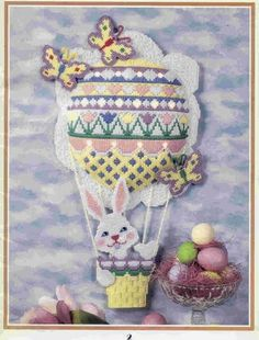 PLASTIC CANVAS EASTER