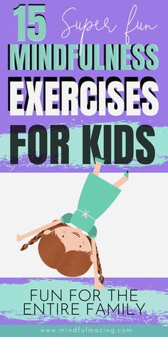 Check out these 15 FREE mindfulness exercises for kids. These are easy and fun f. - Check out these 15 FREE mindfulness exercises for kids. These are easy and fun f. Check out these 15 FREE mindfulness exercises for kids. Mindful Activities For Kids, Physical Activities For Kids, Mental Health Activities, Wellness Activities, Therapy Activities, Indoor Activities, Health Education, Summer Activities, Physical Education