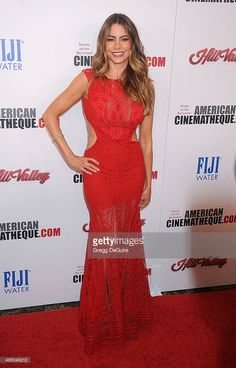 Actress Sofia Vergara arrives at the 29th American Cinematheque Award honoring Reese Witherspoon at the Hyatt Regency Century Plaza on October 30, 2015 in Los Angeles, California.
