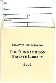 Make your own bookplate