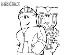 Destiny Roblox Coloring Pages A Robot Of Hello Unk On Unconditional