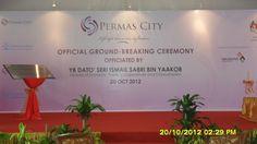 Ground Breaking Ceremony at Permas City 20 Oct 2012
