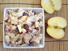 chicken 'n apple salad - Budget Bytes .....with or w/o chicken added