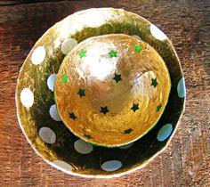 paper mache   paper mache bowls by oliveloaf design