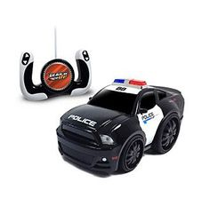 Jam'n Products Gear'd Up Chunky Police Ford Mustang Remote Control Vehicle
