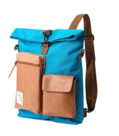 Slander City  Backpack Backpack Turquoise von BagDoRi auf Etsy