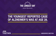 The #Alzheimers Disease is a global epidemic, learn the facts and take a step towards helping to #EndALZ by joining us on #TheLongestDay. #Columbus #Cbus #BrainHealth