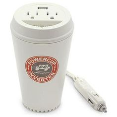 I found 'Coffee Cup Power Inverter' on Wish, check it out!