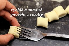 Gnocchi, Krabi, Ricotta, Food And Drink, Vegetarian, Healthy Recipes, Homemade, Breakfast, Tableware