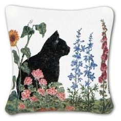 Cat in the Garden Gift Boxed Lavender Sachets