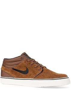 The Janoski Mid in Military Brown, Sail and Black by Nike SB