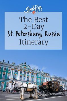 Let ShoreTrips guide you on an excellent 2-day excursion in St. Petersburg, Russia. Be mesmerized by monumental cathedrals, historic museums, the famous Fountain Park and more. This is the best way to spend two days in St. Petersburg! #ThingsToDoIn #RussiaTravel #StPetersburgRussia #SaintPetersburg #Cathedrals #ShoreTrips