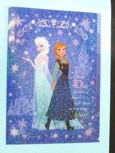 サンスター文具 アナと雪の女王クリヤーホルダー