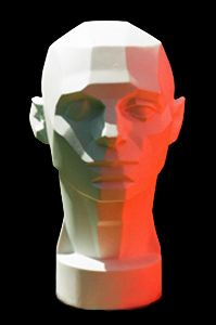 Planes of the Head - Artist's Mannequin Head