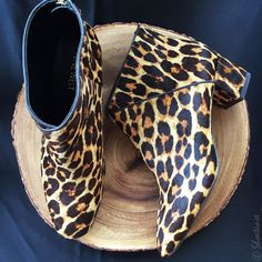 Nine West Canada Shoes Fall 2015 - Mod leopard print ankle boots http://www.siempre-lindas.cl/