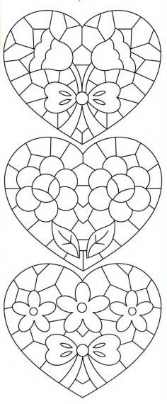 Richelieu e Bainha Aberta: Riscos de Richelieu(net)Lene Richelieu e Bainha Aberta: Riscos de Richelieu(net) Embroidery Hearts, Embroidery Patterns, Hand Embroidery, Stitch Patterns, Stained Glass Patterns, Mosaic Patterns, Coloring Book Pages, Mosaic Art, Stencil