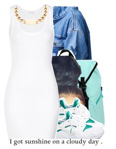 7/7 by trinityannetrinity on Polyvore featuring polyvore, fashion, style, American Vintage and NIKE
