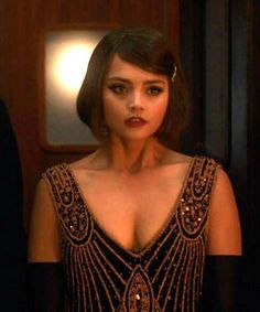 """The Starlet - Copper on Jet - Special Edition - Dr. Who"" — Omg, I found Clara's dress! Wasn't even trying. I love it though."