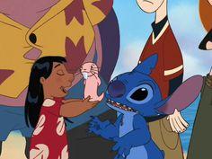 Lilo, Rufus and Stitch