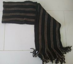 432d5996 NWT Gap Men's Wool Blend Striped Scarf - 64