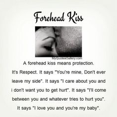 What Does It Mean When a Guy Kisses Your Forehead?