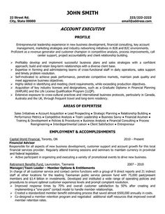 Account executive resume is like your weapon to get the job you ...