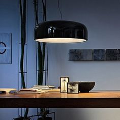 Bold, simple, love it. Smithfield Suspension Lamp Jasper Morrison for Flos - (context)