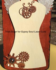 #tag #steampunk #art #JustChickenScratch #gslcuts #guestdesigner #chipboard #chippies #dressform