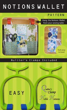 NOTIONS WALLET $19.29. Sewing and quilting tools and storage