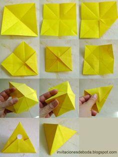 Lembranças de casamento de origami :: Muito originais lembranças de casamento com origami