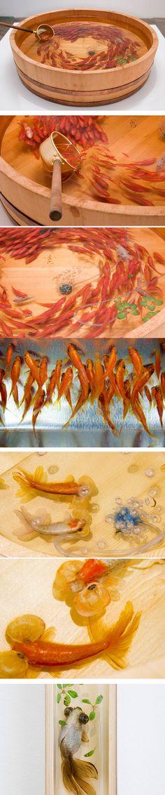 Goldfish Salvation by Riusuke Fukahori