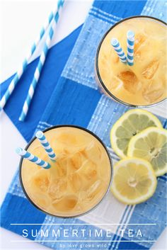 Summertime Tea - the perfect refreshing drink for Summer!