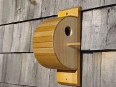 Custom Made Cedar Strip Bird House